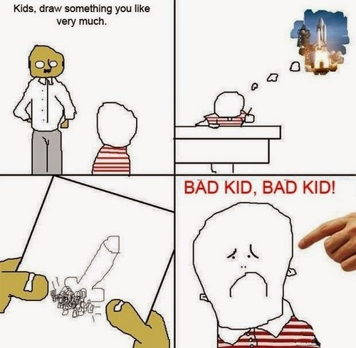 Funny Pictures - Bad Kid