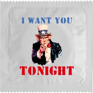 Best condom packaging: I want you tonight