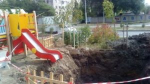 I don't recommend these playgrounds for kids