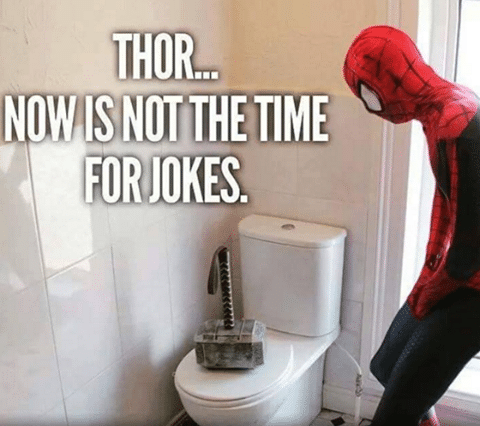 Funny Pictures: Thor This Is Not The Time For Jokes