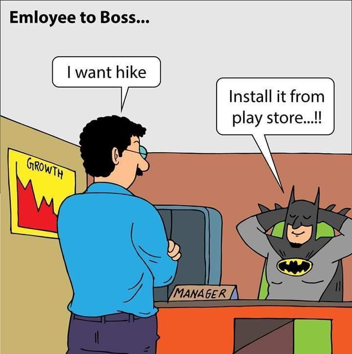 Funny pictures employee to boss