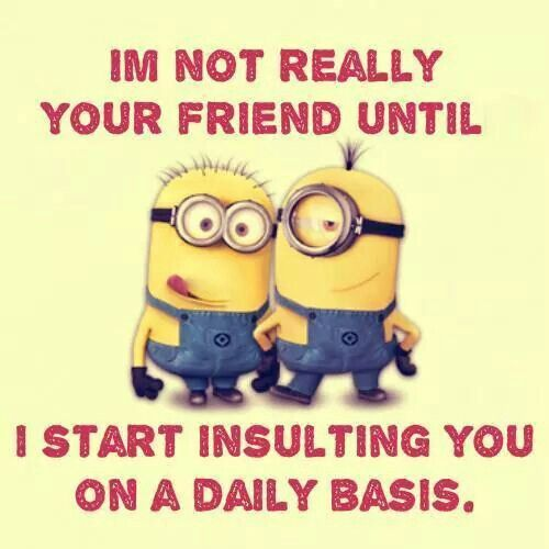 Funny Minions on Friendship