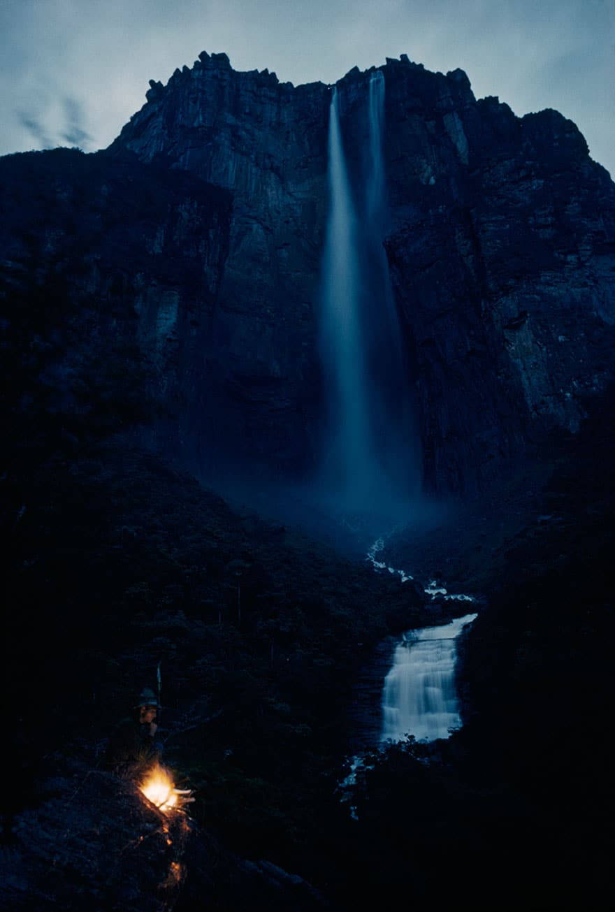 Waterfall Plummets