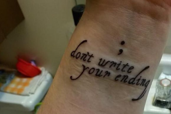 11 Incredibly Cute semicolon tattoo ideas