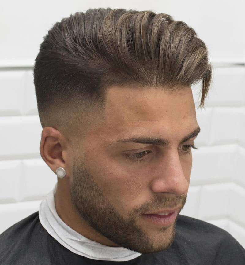 javi_thebarber_high-fade-longer-hair-blown-dry
